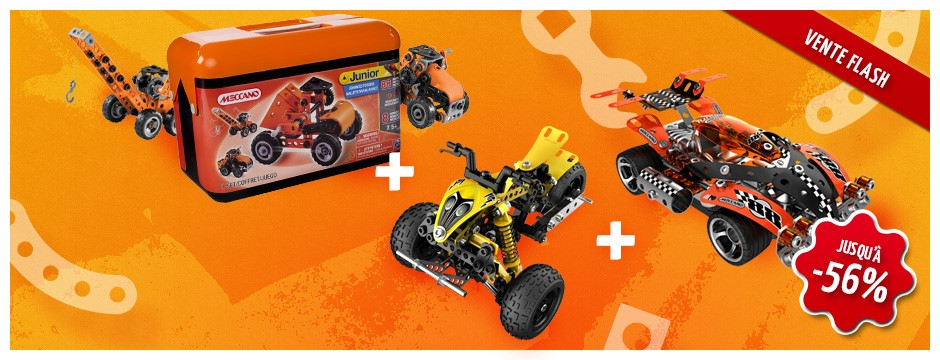 Vente flash meccano