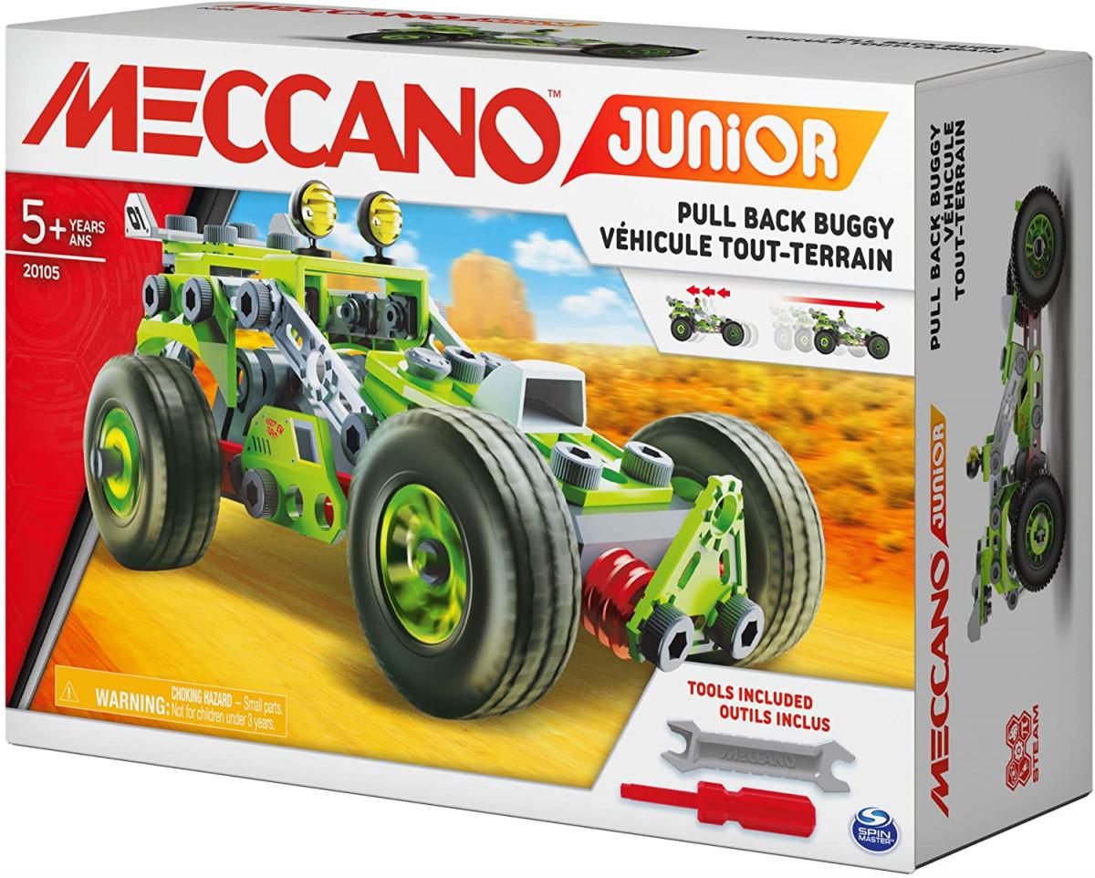 6055133 MA VOITURE A RETRO-FRICTION MECCANO JUNIOR BOITE 2