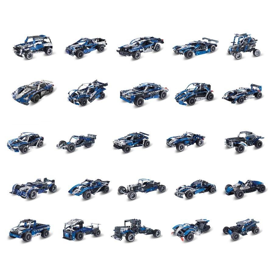 6044495 SUPERCAR 25 MODELES MOTORISES MECCANO MODELES ASSORTIS