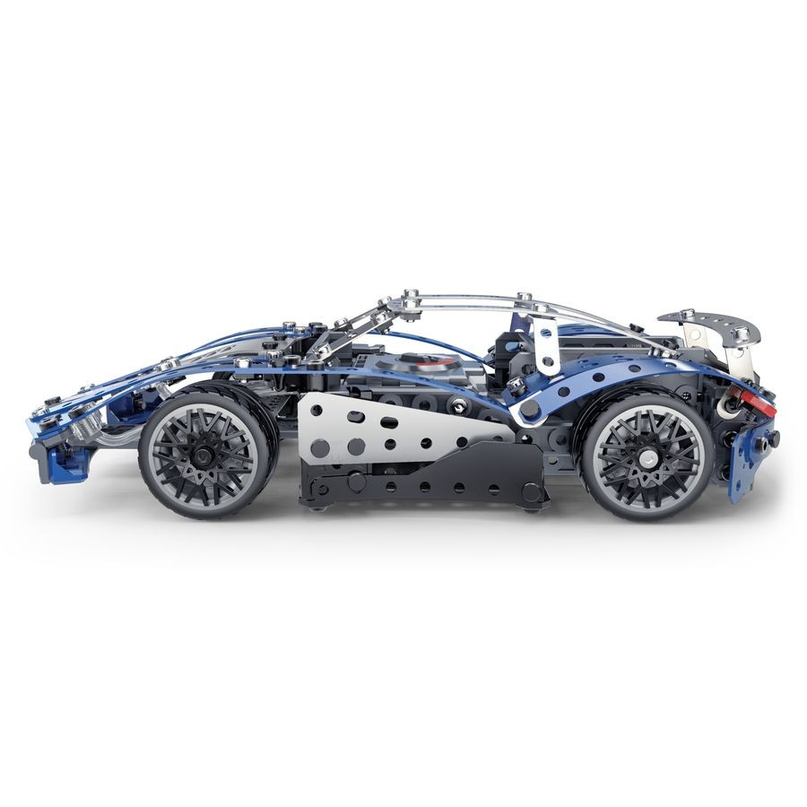 6044495 SUPERCAR 25 MODELES MOTORISES MECCANO PROFIL