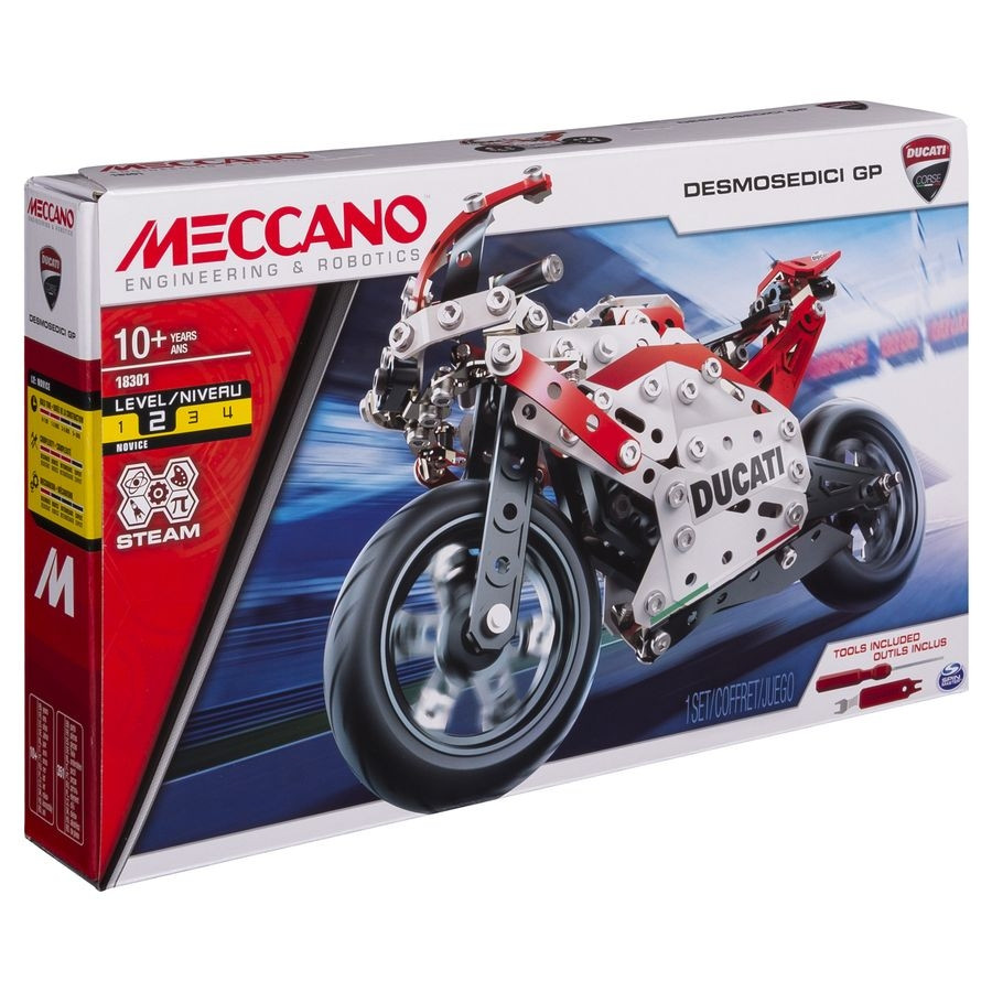 6044539 DUCATI MOTO GP MECCANO BOITE