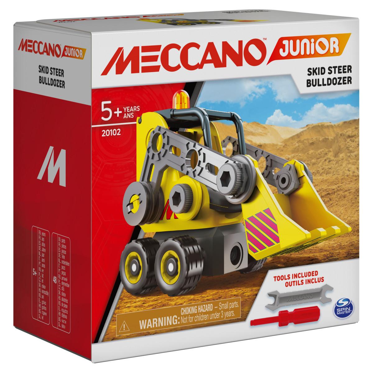 6055090 MES PREMIERES CONSTRUCTIONS MECCANO JUNIOR BULLDOZER BOITE