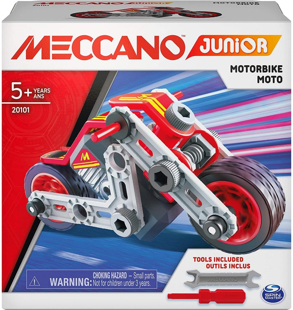 6055090 MES PREMIERES CONSTRUCTIONS MECCANO JUNIOR MOTO BOITE