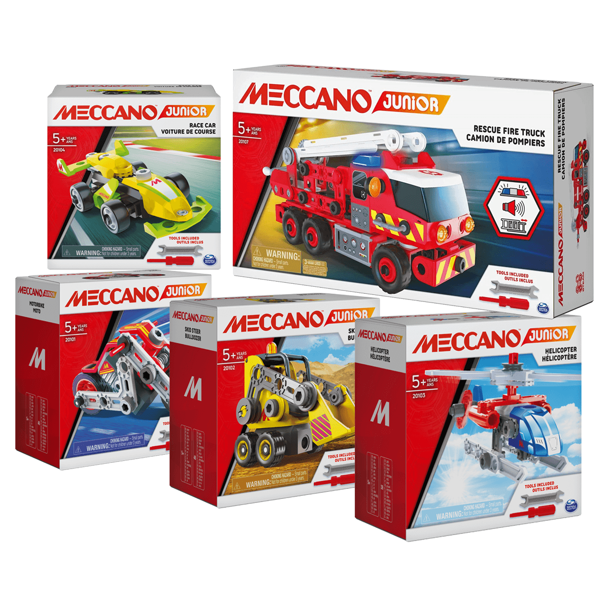 6051590 PACK MES PREMIERES CONSTRUCTIONS MECCANO JUNIOR