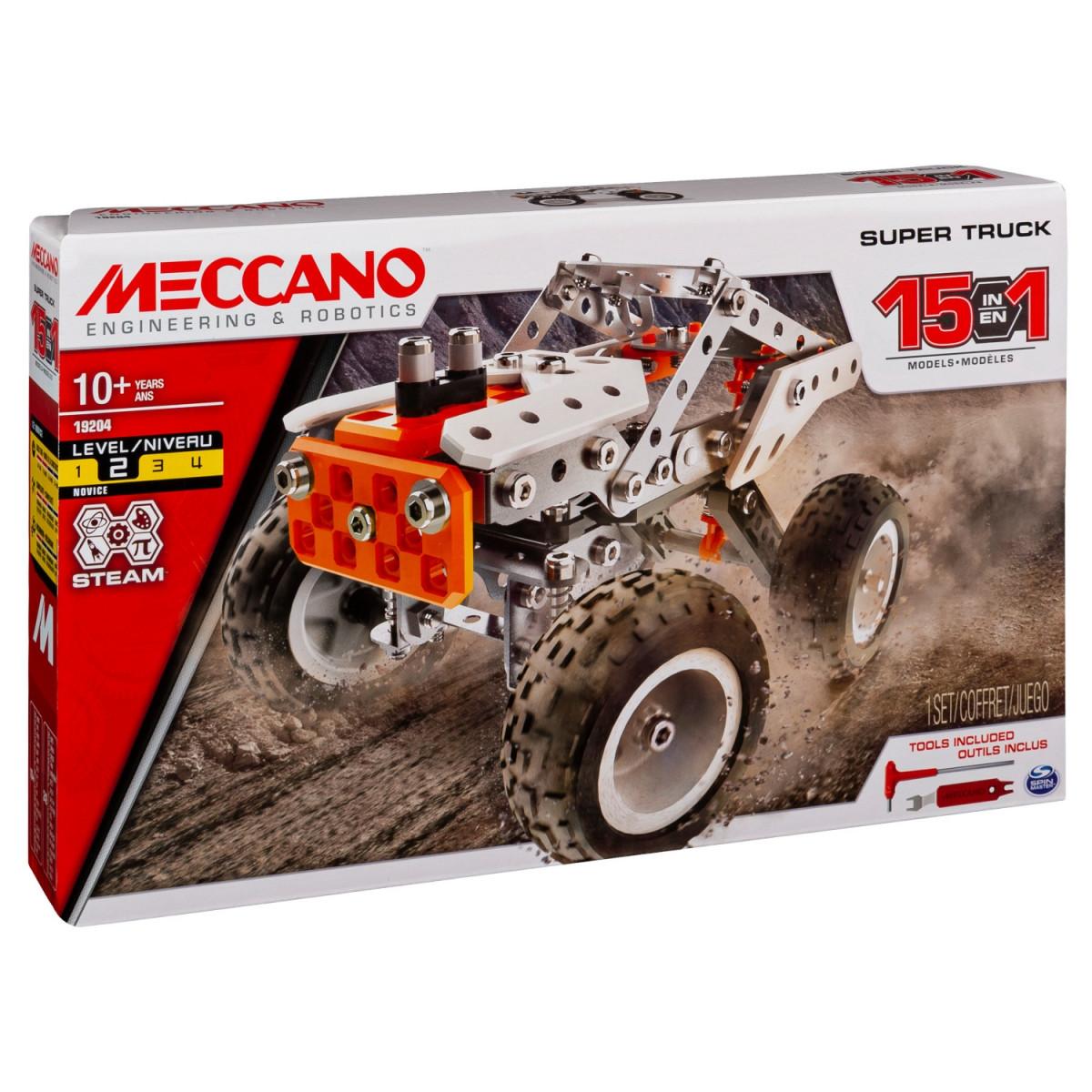 6052632 SUPER TRUCK 15 MODELES MECCANO BOITE