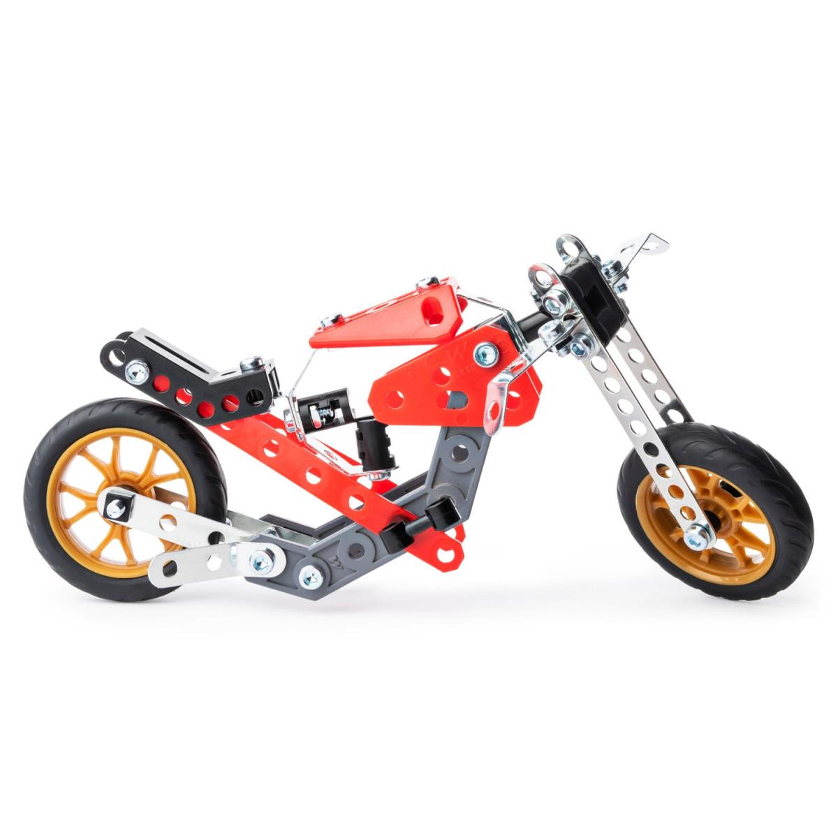 6053371 VOITURE ET MOTO 5 MODELES MECCANO MOB