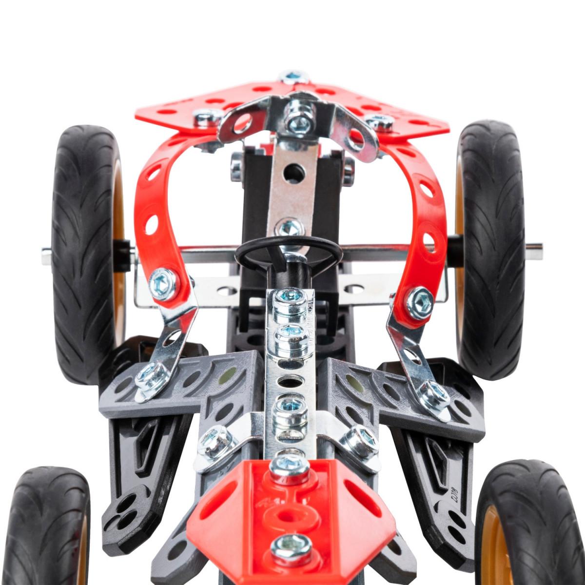 6053371 VOITURE ET MOTO 5 MODELES MECCANO BOLIDE