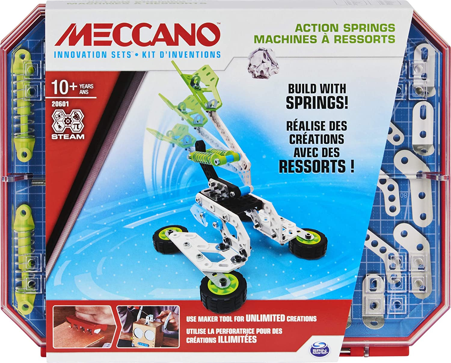 Meccano KIT D'NVENTIONS - RESSORTS Kits d'Inventions