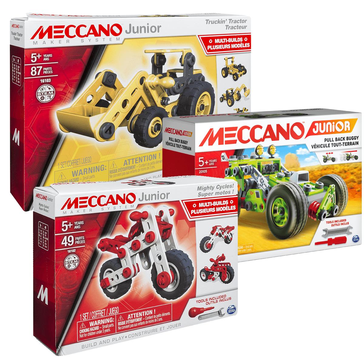 Meccano Nouveau Pack Junior Les bons plans