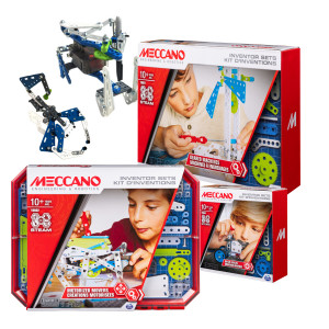 Meccano PACK KITS INVENTIONS Les bons plans