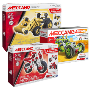 Meccano Nouveau Pack Junior Meccano JUNIOR