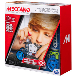Meccano KIT D'INVENTIONS – MONTAGES RAPIDES Meccano