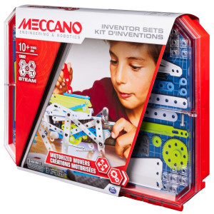 Meccano KIT D'INVENTIONS – MOTEUR Meccano