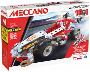 Meccano VEHICULES DE COURSE - 10 MODELES Meccano