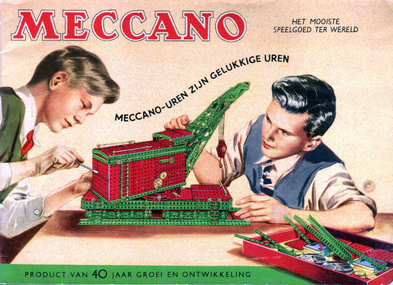Meccano, le jeu de construction pour petits et grands